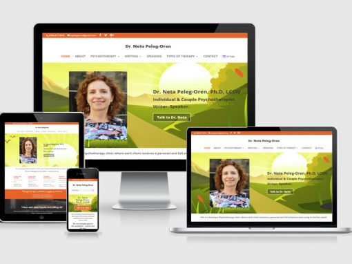Dr. Neta Peleg Oren – second redesign